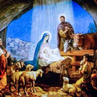 Unto us a child is born, unto us a Son is given